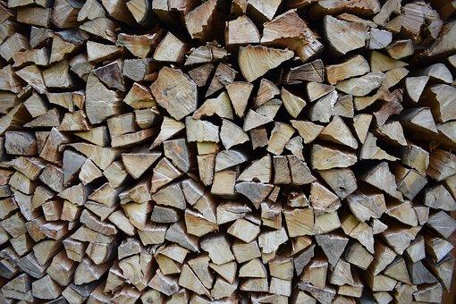 Woodpile, Logs, Firewood, Cut Wood, Wood, Wood Columns