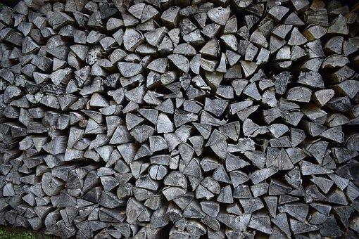 Wood Column, Wood Fuel, Fuel, Background