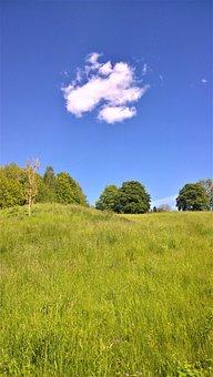 Cloud, Bed, Himmel, Summer, Landscapes, Nature, Grass