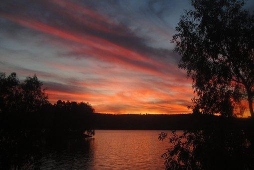 Marsh, Reservoir, Lake, Landscape, Nature, Water
