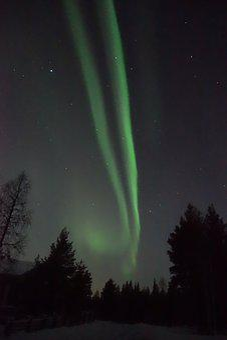 Aurora Borealis, Lapland, The Northern Lights, Nature
