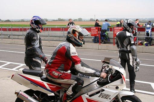 Motorbike, Race, Waiting