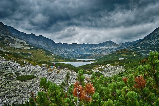 Mountains, Tatry, The Valley Of The
