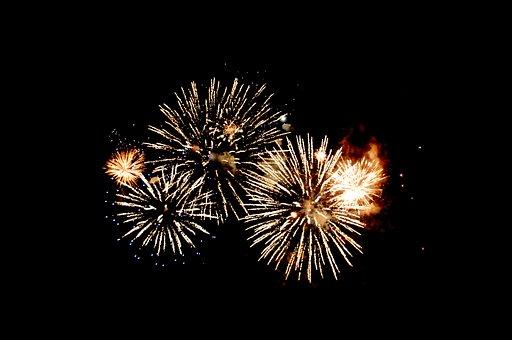 Fireworks, Night Sky, Celebration, Party, Festival