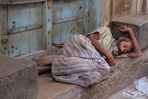 India, Misery, Poverty, Road