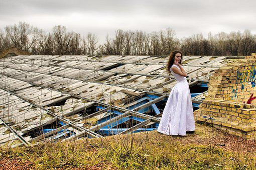 Trash The Dres, Wedding, The Original Photo Shoot, Girl