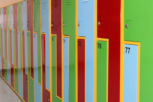 Cabinets, Colorful, Wardrobes, Education, School