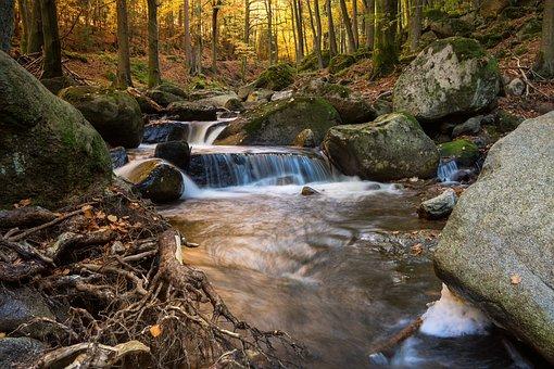 River, Long Exposure, Ilse, Atmospheric, Water, Nature