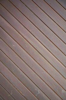 Wall, Wood, Brown, Detail, Painted, Detail Shots, Macro