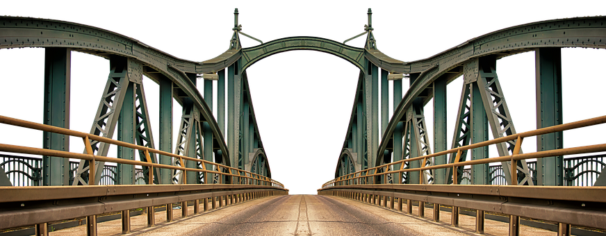 Bridge, Steel Bridge, Building, Architecture