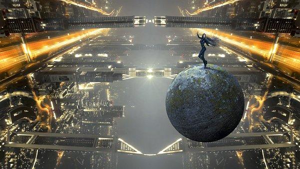 Fantasy, Forward, Science Fiction, Building, City