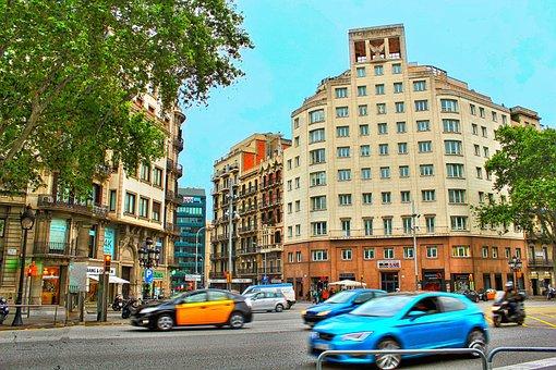 Barcelona, Spain, Catalonia, Travel, Cityscape, City