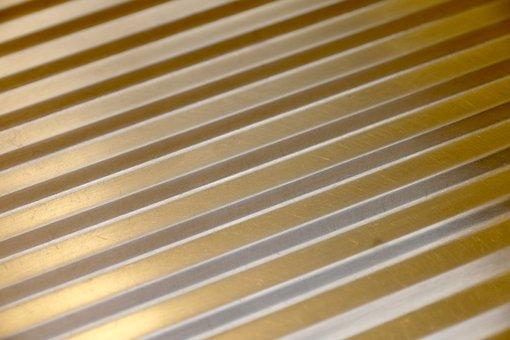 Corrugated Sheet, Chrome Steel, Kitchen Cover
