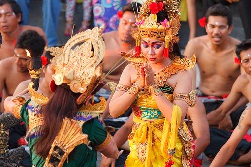 Bali, Uluwatu, Dance Sideshow, Bali Dance, Tradition