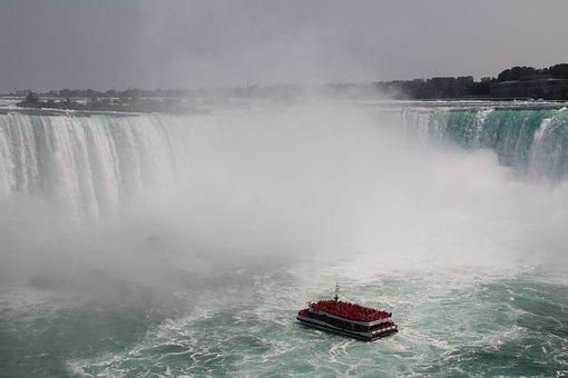 Niagara, River, Waterfall, Falls, Ontario, Mist