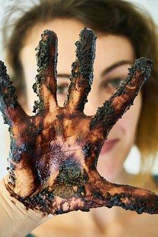 Woman, Chocolate, El, Fingers, Entertainment, Kitchen