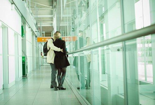 Sweethearts, Para, Goodbye, Airport, Romantic, Terminal