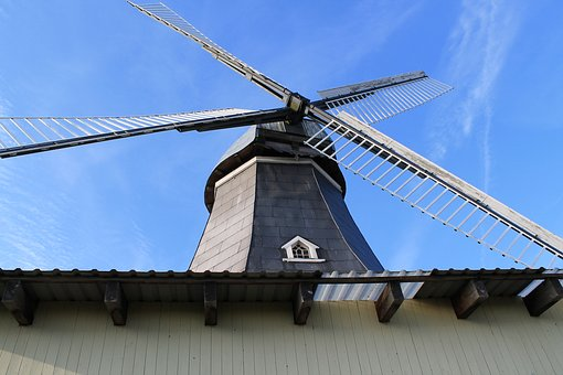 Windmill, Perspective, Historically