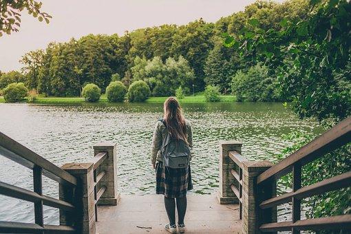 Tsaritsyno, The Entrance Of The Park, Homestead, Pond
