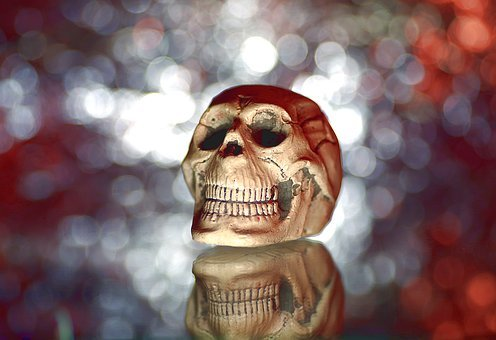 Ornaments, Fun, Skull, A Strange, Horror Movie