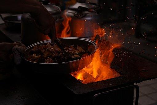 Jiuquan, Dunhuang, Fried Lamb Chops, Mars, Gourmet