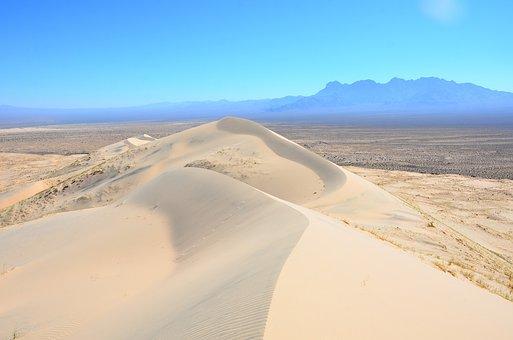 Desert, Mojave, Mojave Desert, California, Dunes