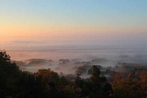 Morning Mood Autumn Morning, Morning Mist, Fog