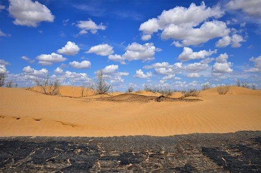 Uzbekistan, Desert Kyzylkum, Sand, Nature