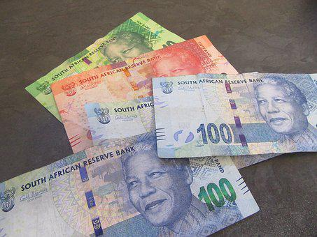 Money, South, Africa, Nelson, Mandela, Rand, 100, 50