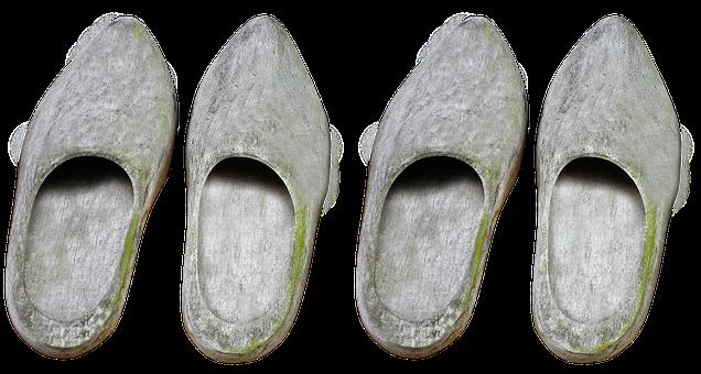 Wooden Shoes, Shoes, Garden Shoe, Holland, Netherlands