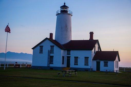 Lighthouse, New Dungeness Lighthouse, Light Station