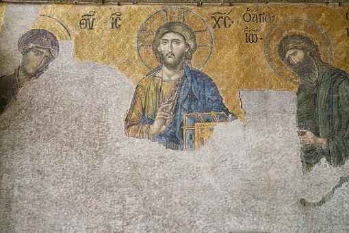 Mosaic, Pictures, Art, Jesus, Religion, Christianity