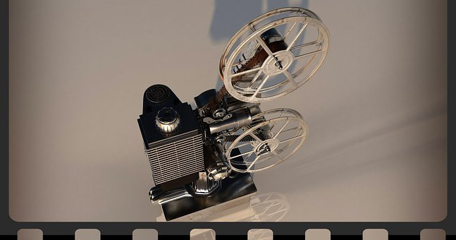 Projector, Film, Coil, Filmstrip, Movie Set