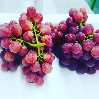 Seedless, Red, Grapes