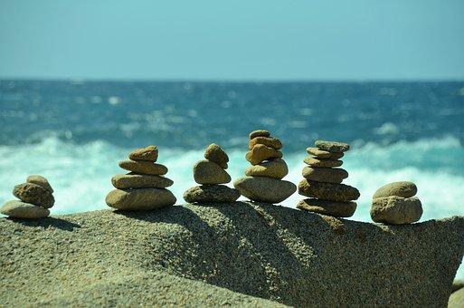Sardinia, Sea, Capo Testa, Stones, New Age