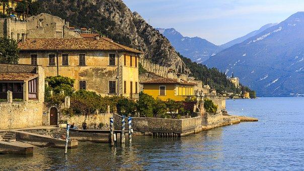 Limone, Garda, Italy, Holiday Shores, Lake, Travel