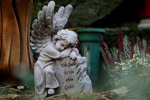 Angel, Angel Figure, Angel Wings, All Souls
