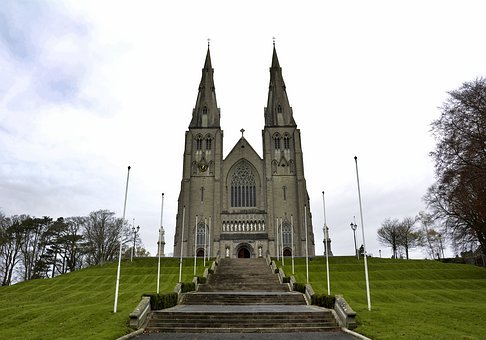 Ireland, Armagh, Building, Religious, Historic, Church