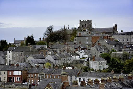 Ireland, Armagh, City, Town, Buildings, Townscape
