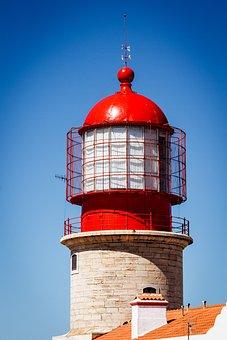 Lighthouse, Cabo, Portugal, Algarve, Sagres, Atlantic