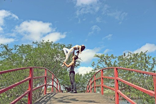 Dance, Backcountry, Park, Nature, Casal, Couple Dancing