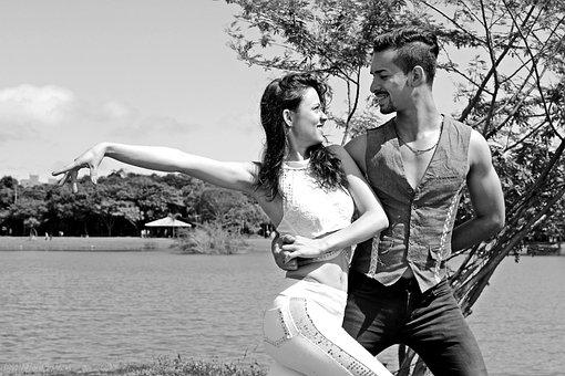 Dance, Backcountry, Park, Nature, Casal, Couple Dancing