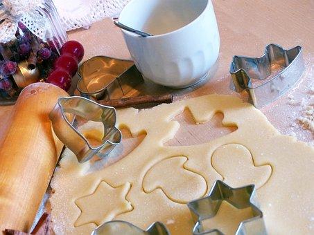 Christmas Baking, Bake, Cookies, Cookie
