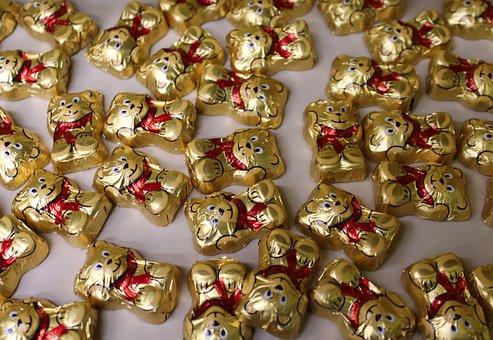Sweets, Bears, Chocolates, Cute Teddy Bears, Eating