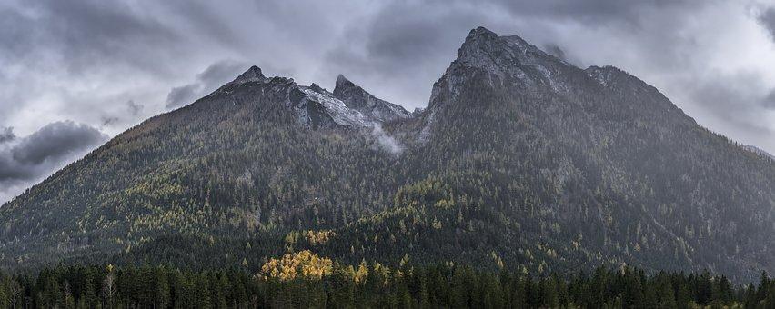 Watzmann, Mountain, Alpine, Berchtesgaden Alps, Massif