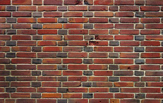 Brick Wall, Wall, Brick, Red Brick Wall, Texture