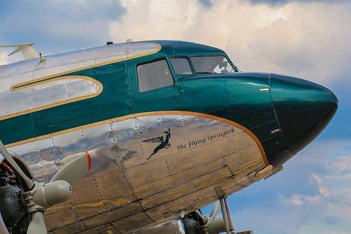 Aircraft, Historically, Oldtimer, Old Aircraft, Cockpit
