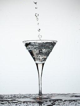 Water, Glass, Clear, Liquid, Immersion, Drip, Mood
