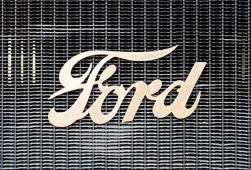 Ford, Lettering, Cooler, Oldtimer, Early Days