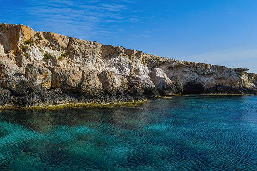 Sea Caves, Rock, Erosion, Geology, Formation, Scenery